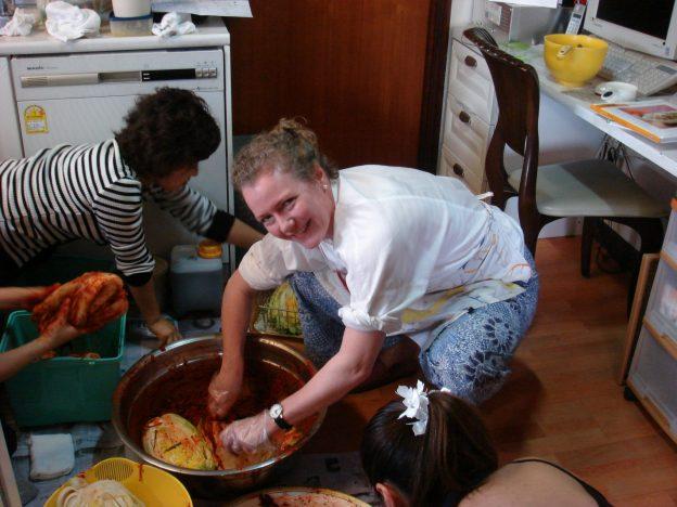 Kimchi maken in Zuid-Korea